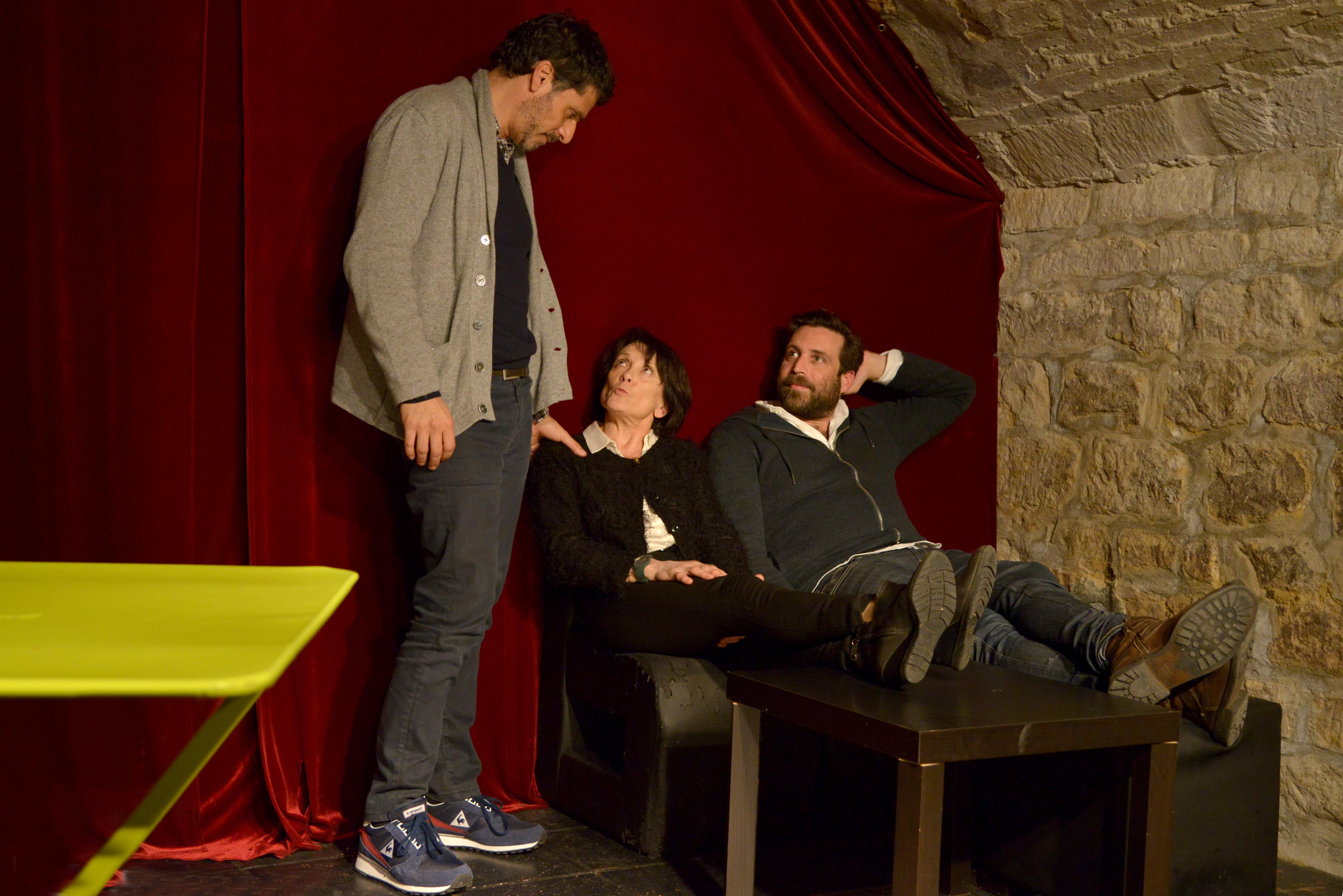 Pascal Elbé, Véronique et Eric