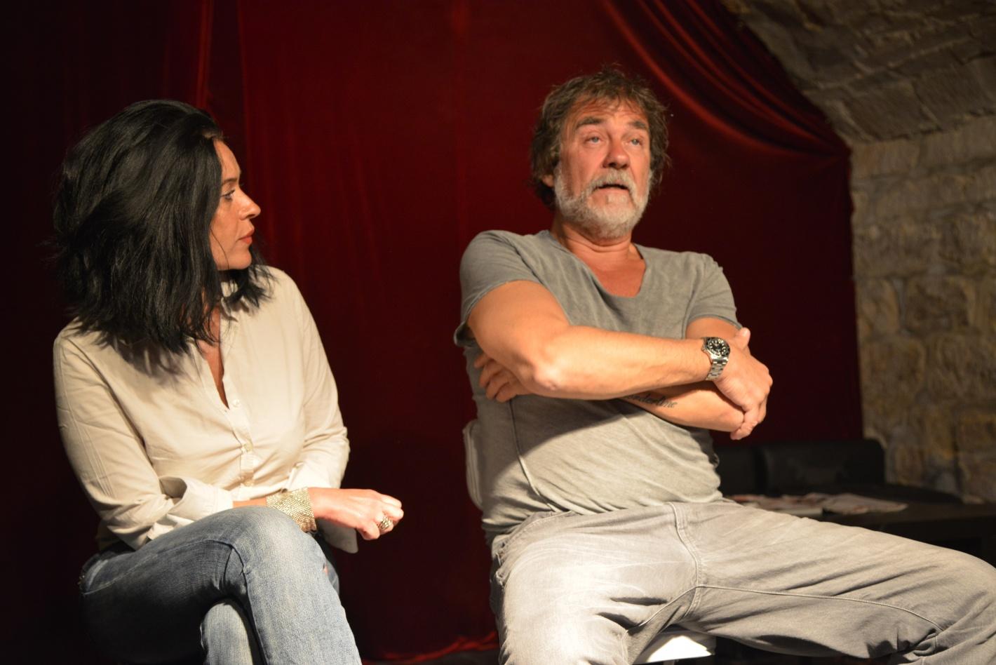 Olivier Marchal Florence Nahon école de théâtre Atelier de l'Acteur