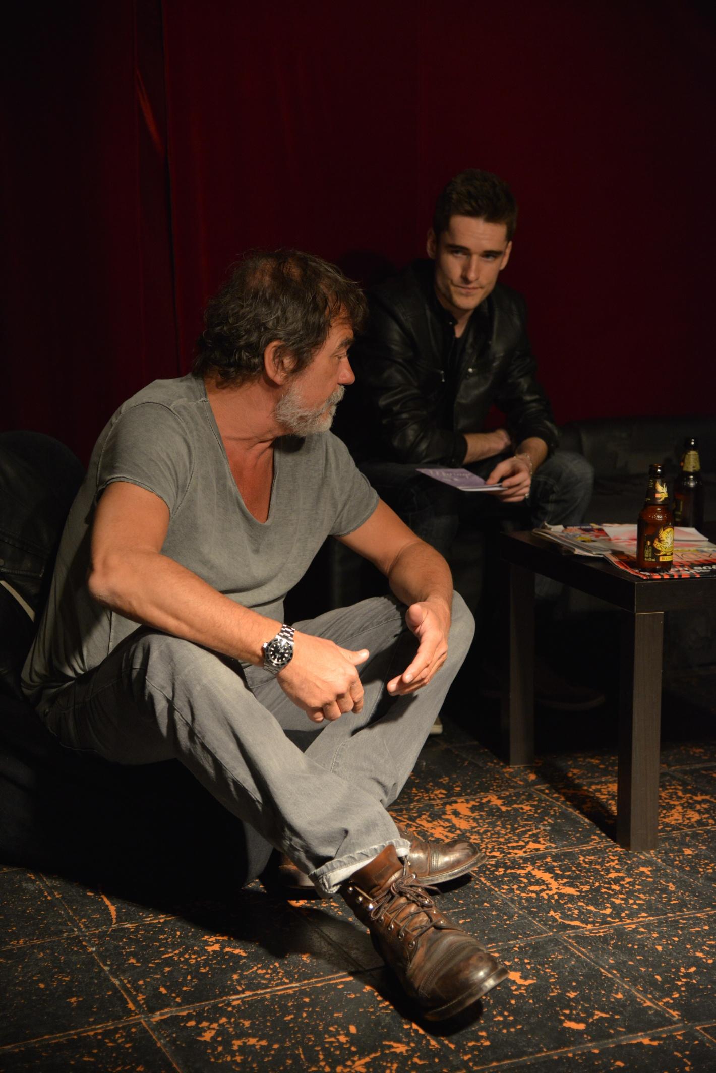 Olivier Marchal Atelier de l'Acteur école théâtre