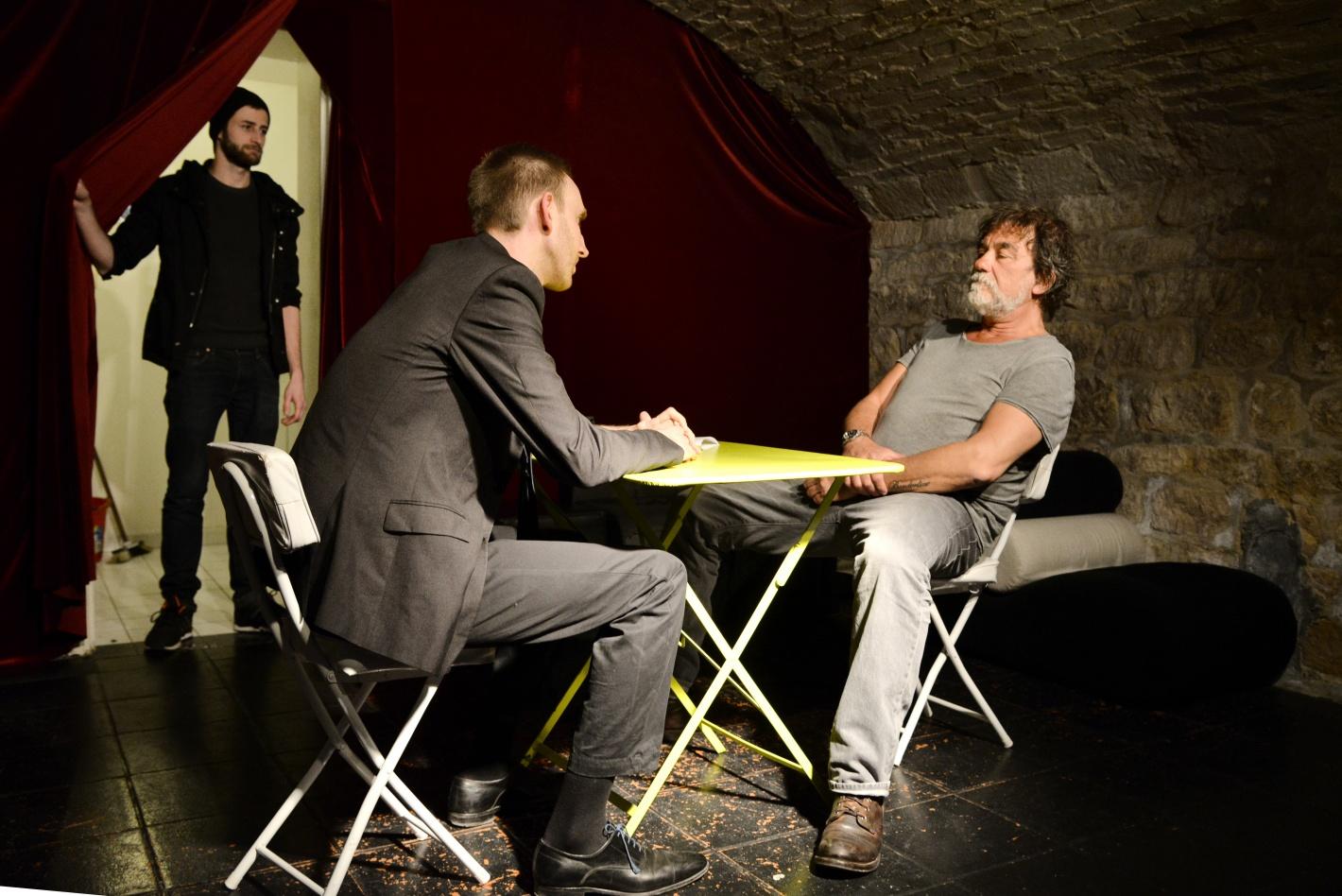 Olivier Marchal à l'Atelier de l'Acteur école théâtre